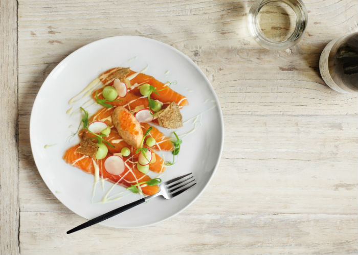 Gravlax With Pickled Fennel